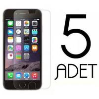 Coverzone Apple İphone 5 5S Ekran Koruma Jelatin X5 Adet