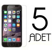 Coverzone Asus Zenfone 4 Ekran Koruma Jelatin X5 Adet