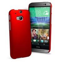 Microsonic Premium Slim Kılıf Htc One M8 Kırmızı