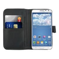 Microsonic Cüzdanlı Deri Kılıf - Samsung Galaxy Note 3 Neo Siyah