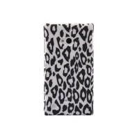 Duck Lumia 720 Leopar Desenli Daily Siyah-Beyaz Kapak