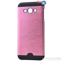 Case 4U Samsung Galaxy J2 Moto Sert Arka Kapak Pembe