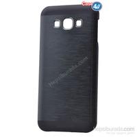 Case 4U Samsung Galaxy Grand Prime Moto Sert Arka Kapak Siyah