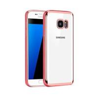 Microsonic Samsung Galaxy S7 Kılıf Flexi Delux Rose Gold