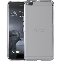 Microsonic Htc One X9 Kılıf Transparent Soft Beyaz