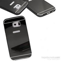 KılıfShop Samsung Galaxy S7 Aynalı Lüks Metal Bumper Kılıf