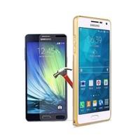 Kılıfshop Samsung Galaxy A7 2016 Metal Bumper Çerçeve + Ekran Koruyucu