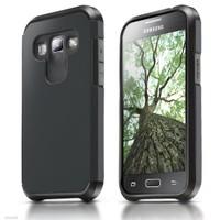 Microsonic Samsung Galaxy A8 Kılıf Slim Fit Dual Layer Armor Siyah