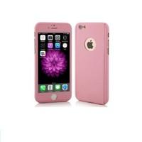 Ksp Apple iPhonde 6 Plus/6S Plus Kılıf 360 Derece Tam Koruma Pembe
