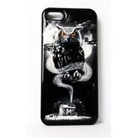 Köstebek The Owl - Baykuş İphone 5 Telefon Kılıfı