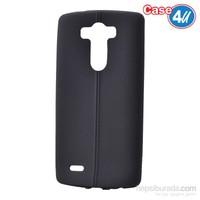 Case 4U Lg G3 Desenli Silikon Kılıf Siyah