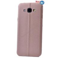 Case 4U Samsung J7 Parlak Desenli Silikon Kılıf Rose Gold