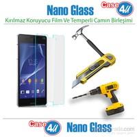 Case 4U Sony Xperia Z3 Nano Glass Ekran Koruyucu*