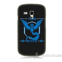 Teknomeg Samsung Galaxy S3 Mini Kapak Kılıf Pokemon Team Mystic Baskılı Silikon