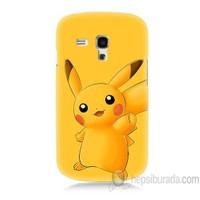 Teknomeg Samsung Galaxy S3 Mini Kapak Kılıf Pokemon Pikachu Baskılı Silikon