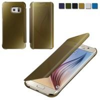 Markaavm Samsung Galaxy S6 Edge Plus Kılıf Claer Aynalı