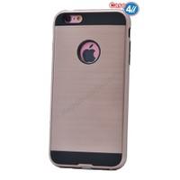Case 4U Apple İphone 4 Korumalı Kapak Rose Gold