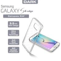 Dark Samsung Galaxy S6 Edge 0,5mm Ultra İnce Şeffaf Görünmez Kılıf (DK-AC-CPSMS6E02)