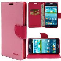 Markaawm Samsung Galaxy S3 Mini Kılıf Standlı Cüzdanlı Kılıf Mercury