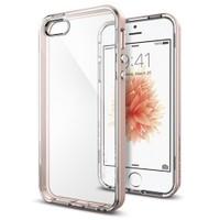 Spigen Apple iPhone Se/5S/5 Kılıf Neo Hybrid Crystal Rose Gold