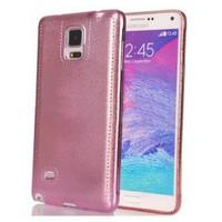 Coverzone Samsung Galaxy Note 4 Kılıf Silikon Parlak