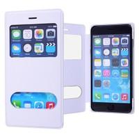 Ally Apple İphone 6/6S Plus Mıknatıslı - Stand Ve Pencereli Flip Cover Kılıf