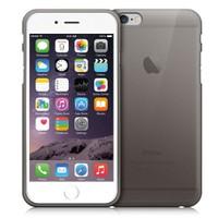 Case 4U Apple İphone 6 Ultra İnce Silikon Kılıf Siyah