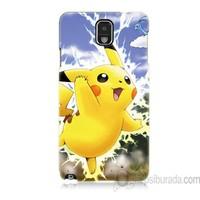 Teknomeg Samsung Galaxy Note 3 Kapak Kılıf Pokemon Pikachu Baskılı Silikon
