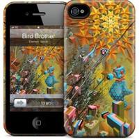 Gelaskins Apple iPhone 4 Hardcase Kılıf Bird Brother