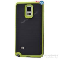 Case 4U Samsung Galaxy Note 4 Infinity Koruyucu Kapak Yeşil