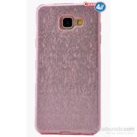 Case 4U Samsung A510 Galaxy A5 Shining Silikon Kılıf Pembe