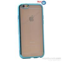 Case 4U Apple İphone 6 Plus Lazer Kaplama Silikon Kılıf Turkuaz