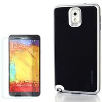 Cep Market Samsung Galaxy Note 4 Kılıf Motomo Arka Kapak + Cam