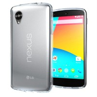 Microsonic Transparent Soft Lg Nexus 5 Kılıf Beyaz