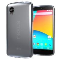 Microsonic Transparent Soft Lg Nexus 5 Kılıf Siyah