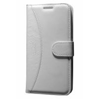 Cep Market Samsung Galaxy S5 Mini Kılıf Standlı Cüzdan - Beyaz