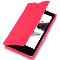 Nillkin Nokia X Kılıf Fresh Kapaklı Flip Cover Kırmızı