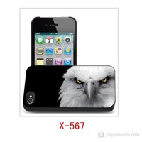 I-Techgear Apple iPhone4/4S 3D Arka Kapak Kartal X-567