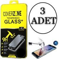 Coverzone İphone 6 Plus 6S Plus Temperli Ekran Koruyucu 3 Adet