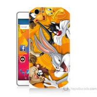 Teknomeg Casper Via M1 Kapak Kılıf Disney Karakterleri Baskılı Silikon