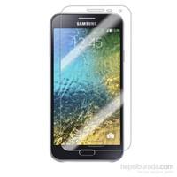 Case 4U Samsung Galaxy E5 Ultra Şeffaf Ekran Koruyucu