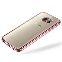 Cepsesuar Samsung Galaxy Note 5 Kılıf Silikon Lazer Pembe