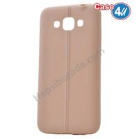 Case 4U Samsung Galaxy Grand Max Desenli Silikon Kılıf Altın