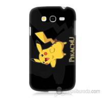 Teknomeg Samsung Galaxy Grand Neo İ9060 Kapak Kılıf Pokemon Pikachu Baskılı Silikon