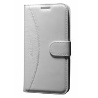 Gpack Sony Xperia C3 Kılıf Standlı Cüzdan - Beyaz