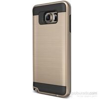 Cepsesuar Samsung Galaxy Note 5 Kılıf Design Gold
