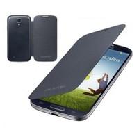 Microsonic Delux Kapaklı Kılıf Samsung Galaxy S4 Siyah