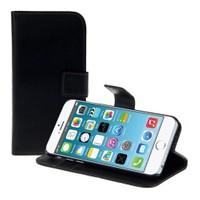 Microsonic Cüzdanlı Standlı Deri İphone 6 (4.7'') Siyah