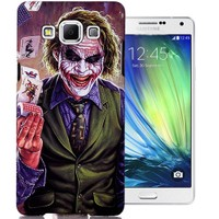 CoverZone Samsung Galaxy A3 Kılıf Resimli Kapak Joker