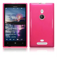 Microsonic Nokia Lumia 925 Glossy Soft Kılıf Pembe - CS130-GLSSY-LUMIA-925-PMB